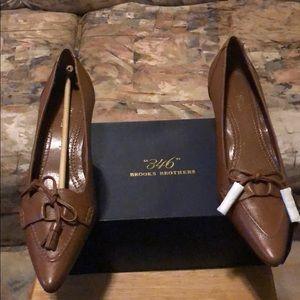 Brooks Brothers kitten heels